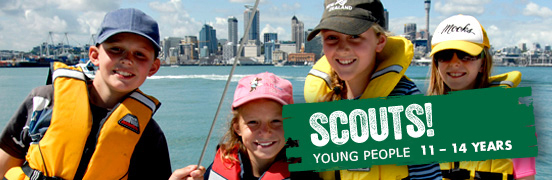 Scouts! - Young People - 7-10 Years